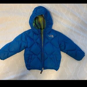 Toddler reversible North Face coat 12-18 months